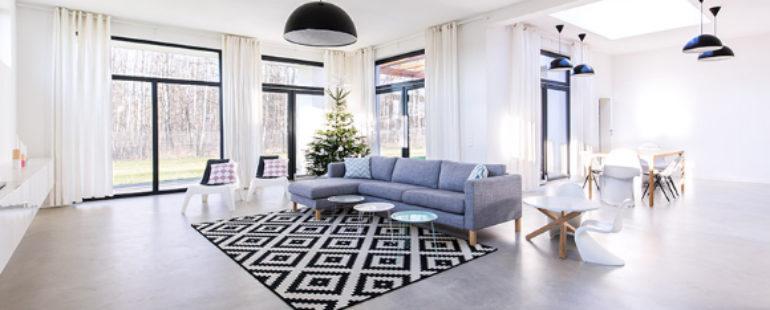 Pisos rústicos em projetos residenciais ou comerciais