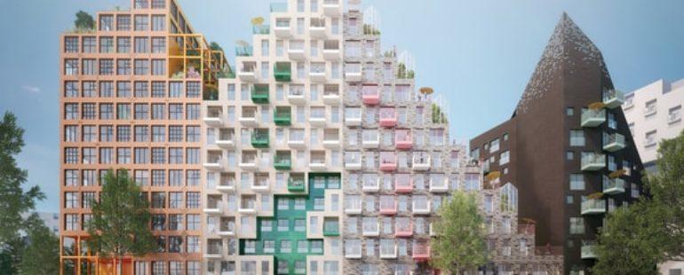 Manuelle Gautrand desenvolve projeto de condomínio futurista