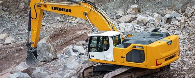 Escavadeira de esteiras Liebherr R 922 recebe prêmio de design