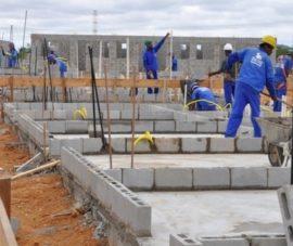 Mão de obra e materiais desaceleram inflação da construção
