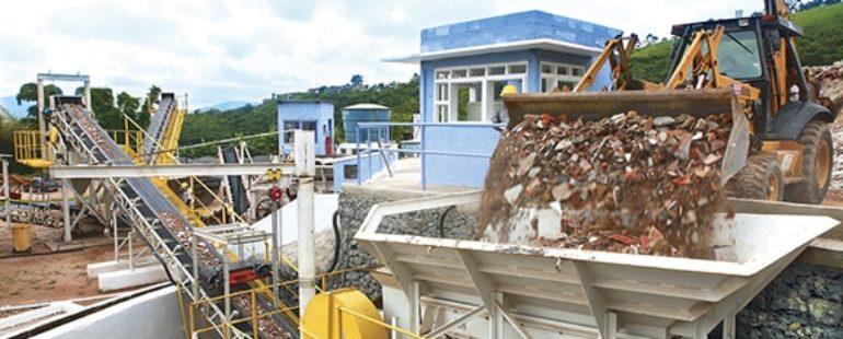 País precisa reciclar resíduos da construção