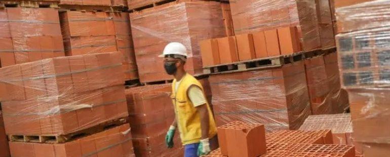 Vendas de materiais de construção têm nova alta em fevereiro
