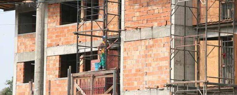 PIB da construção avançou 2,7% no segundo trimestre